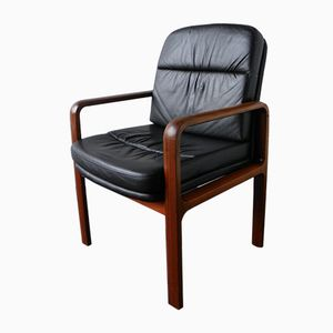 Vintage Leather Armchair from Kondor Mobel-Perfektion