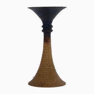 Große Mid-Century Diabolo Keramik Stehleuchte, 1970er