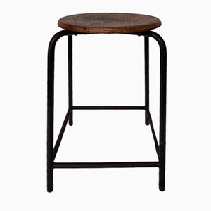 Tabouret de Bar Industriel, 1920s