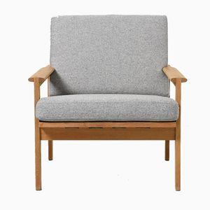 Vintage Oak Capella Chairs by Illum Wikkelsø for N.Eilersen, Set of 2