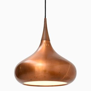 Mid-Century Copper Orient Major Pendant by Jo Hammerborg for Fog & Mørup