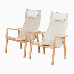 Easy Chairs by Yngve Ekström for Swedese, 1976, Set of 2