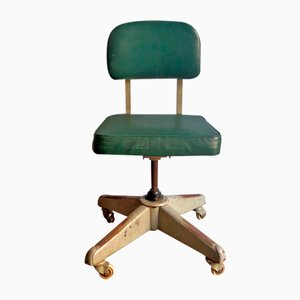 Chaise de Bureau Vintage Industrielle