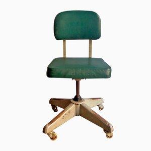 Sedia da ufficio vintage industriale