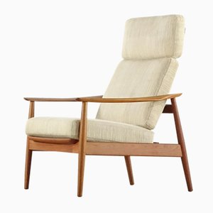 Teak Lounge Chair by Arne Vodder for Cado