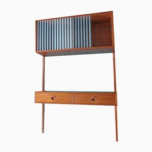 Danish Suspended Wall Unit from PS System, 1955
