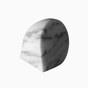Briefbeschwerer Type B aus Arabescato Corchia Marmor von Michael Anastassiades für Salvatori
