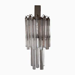 Trilobi Murano Glas Wandleuchte von Venini, 1960er