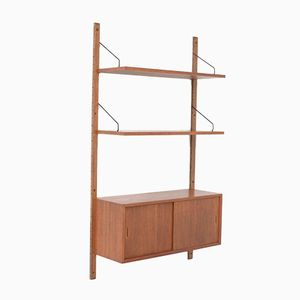 Mid-Century Wall Unit by Poul Cadovius for Royal System