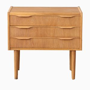 Mid-Century Danish Oak Bedside Dresser
