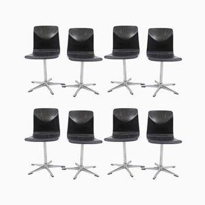 Stühle von Elmar Flötotto für Pagholz Flötotto, 1970er, 8er Set