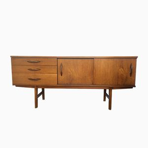 Mid-Century Teak Sideboard with Sliding Doors from Avalon, 1960s
