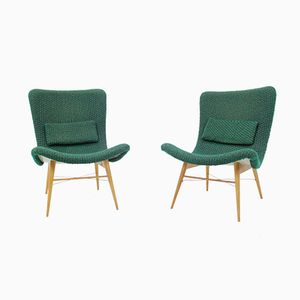 Czechoslovakian Chairs by Miroslav Navratil for Interier Praha, 1959, Set of 2