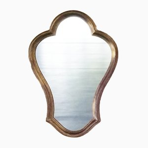French Mirror with Gilded Wooden Frame, 1960s