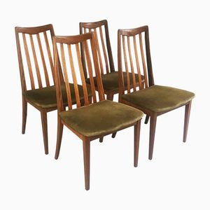 Mid-Century Modern Fresco Dining Chairs G-Plan, 1970s, Set of 4