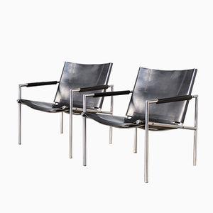 Vintage SZ02 Sessel von Martin Visser für 't Spectrum, 2er Set