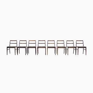 Vintage Model 430 Rosewood Dining Chairs by Helge Sibast for Sibast Møbler, Set of 8
