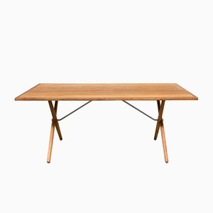 Vintage AT-303 Dining Table by Hans J. Wegner for Andreas Tuck, 1960s