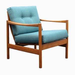 Armchair in Solid Beech, 1960s