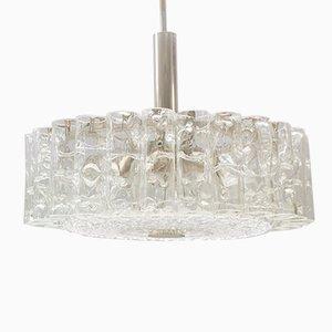 Glasröhren Lampe von Doria, 1960er