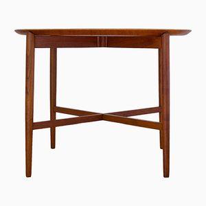 Zusammenklappbarer Teak Tisch, 1960er
