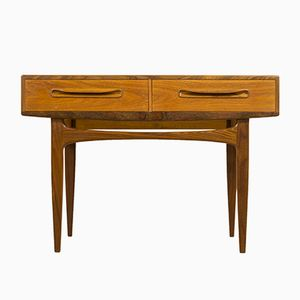 Mid-Century Fresco Teak Console Table by V. B. Wilkins for G-Plan