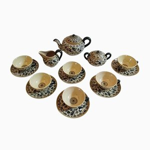Italian Tea Set from Molaroni Pesaro, 1930s