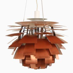 Dänische Vintage Artischocken Lampe von Poul Henningsen für Louis Poulsen