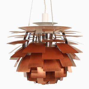 Vintage Danish Artichoke Lamp by Poul Henningsen for Louis Poulsen
