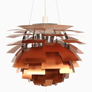 Large Vintage Danish Artichoke Lamp by Poul Henningsen for Louis Poulsen
