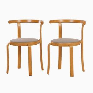 Dänische Esszimmerstühle von Thygsen & Sørensen für Magnus Olesen, 1980er, 2er Set