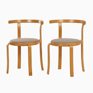 Danish Dining Chairs by Thygsen & Sørensen for Magnus Olesen, 1980s, Set of 2