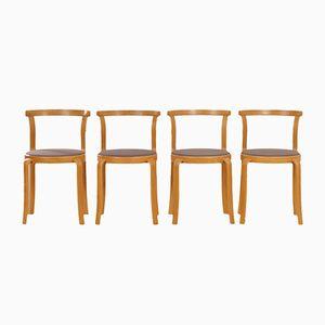 Dänische Esszimmerstühle von Thygsen & Sørensen für Magnus Olesen, 1980er, 4er Set