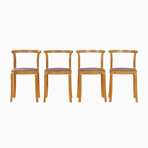 Danish Dining Chairs by Thygsen & Sørensen for Magnus Olesen, 1980s, Set of 4