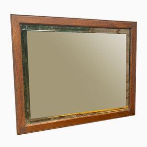 Rechteckiger Vintage Wandspiegel