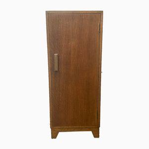 Vintage #436 Oak Veneer Bedside Cabinet