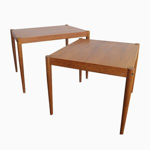 Vintage Danish Teak Nesting Tables, 1950s