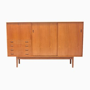 Mid-Century British Teak Highboard from Dalescraft