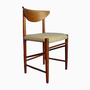 Modell 316 Stuhl von Peter Hvidt & Orla Mølgaard Nielsen für Søborg Møbelfabrik, 1958