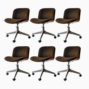 Chaises de Salon Mid-Century par Ico Parisi pour MIM Design, Set de 6
