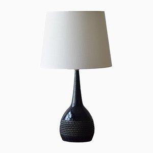 Lampada da tavolo blu di Per Linnemann-Schmidt per Palshus, Scandinavia, anni '60