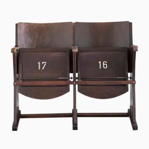 Vintage Two-Seater Cinema Seats from Thonet