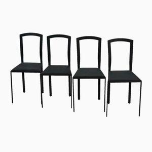 Italian Dining Chairs, 1986, Set of 4
