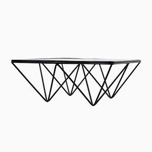 Italian Coffee Table in Geometric Design, 1970s