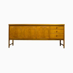 Mid-Century Teak Circles Sideboard from Nathan Furniture, 1960s