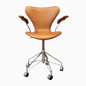 Model 3217 Seven Office Chair by Arne Jacobsen for Fritz Hansen, 1980s