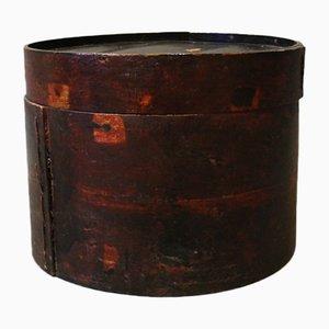 Chinesische Hut Box aus Holz, 1930er