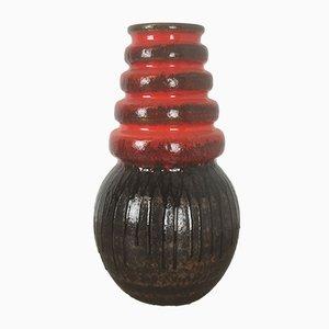 Wiener Vintage Fat Lava Vase von Scheurich, 1970er
