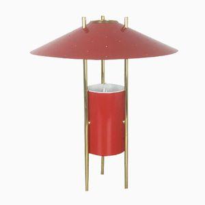 Lampada da tavolo vintage modernista tripode, anni '60