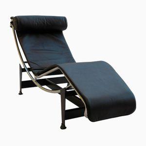 Vintage LC4 Chaise Longue von Le Corbusier, Perriand & Jeanneret für Cassina